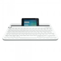 Logitech Bluetooth Multi-Device Keyboard K480 - White (920-006381)
