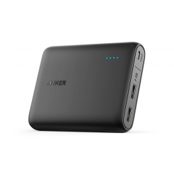 Anker PowerCore Power Bank 13000 мАч - Black (A1215011)