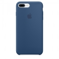 Apple Silicone Case для iPhone 7 Plus - Ocean Blue (MMQX2)