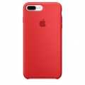 Apple Silicone Case для iPhone 7 Plus - RED (MMQV2)