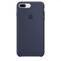 Apple Silicone Case для iPhone 7 Plus - Midnight Blue (MMQU2)
