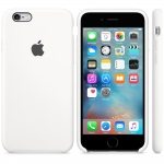 Apple Silicone Case iPhone 6 / iPhone 6S - White (MKY12)
