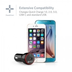 Anker PowerDrive+ Quick Charge 3.0 24W USB Car Charger (A2210011)