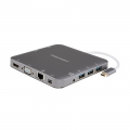 CableCreation Multi Adapter - HDMI/Mini DP/VGA/3xUSB 3.0/Ethernet/CardReader/Stereo (CD0442)