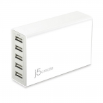 j5create 40W USB Super Charger - белое (JUP50)