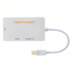 CableCreation Mini DisplayPort в HDMI / DVI / Display Port - белый (CD0016)