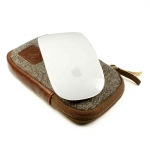 Tuff-Luv Herringbone Tweed Travel Case для Apple Wireless Magic Mouse (J6_23)