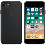 Apple Silicone Case для iPhone 7 / iPhone 8 - Black (MQGK2)