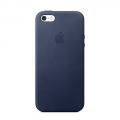 Apple iPhone SE Leather Case - Midnight Blue (MMHG2)