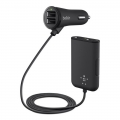 Belkin Road Rockstar 4-Port Passenger Car Charger (F8M935bt06-BLK)