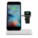 Belkin Valet Charge Dock Silver для Apple Watch и iPhone - Silver (F8J183vfSLV)