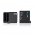 GoPro Dual Battery Charger + Battery (AHBBP-401)