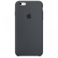 Apple Silicone Case for iPhone 6 / 6S - Charcoal Gray (MKY02)
