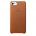 Apple Leather Case iPhone 7 - Saddle Brown (MMY22)