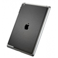 SGP Skin Guard Set Series Carbon Black for iPad 3, iPad 2 (SGP08858)