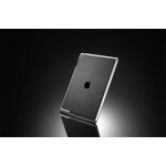 SGP Skin Guard Set Series Deep Black Leather for iPad 3, iPad 2 (SGP08860)