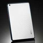 SGP Skin Guard Set Series Carbon White for iPad Mini (SGP10067)