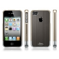"SGP Case Linear ""Blitz"" Series Gun Metal for iPhone 4, 4S (SGP08338)"