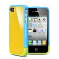 SGP Case Linear Series Yellow Pops Special Edition for iPhone 4, 4S (SGP08188)