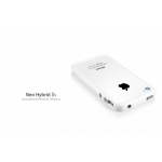 SGP Case Neo Hybrid 2S Snow Series Infinity White for iPhone 4, 4S (SGP08353)