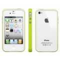 SGP Case Neo Hybrid 2S Snow Series Lime for iPhone 4, 4S (SGP08356)