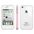 SGP Case Neo Hybrid 2S Snow Series Sherbet Pink for iPhone 4, 4S (SGP08355)