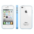 SGP Case Neo Hybrid 2S Snow Series Tender Blue for iPhone 4, 4S (SGP08354)