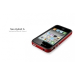 SGP Case Neo Hybrid 2S Vivid Series Dante Red for iPhone 4, 4S (SGP08358)
