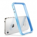 SGP Case Neo Hybrid 2S Pastel Series Tender Blue for iPhone 4, 4S (SGP08365)