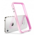 SGP Case Neo Hybrid 2S Pastel Series Sherbet Pink for iPhone 4, 4S (SGP08366)
