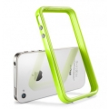 SGP Case Neo Hybrid 2S Pastel Series Lime for iPhone 4, 4S (SGP08367)