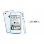 SGP Case Neo Hybrid 2S Pastel Series Alpine Tender Blue for iPhone 4, 4S (SGP08361)