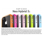 SGP Case Neo Hybrid 2S Pastel Series Alpine Pink for iPhone 4, 4S (SGP08362)