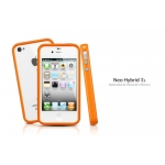 SGP Case Neo Hybrid 2S Pastel Series Solaris Orange for iPhone 4, 4S (SGP08364)