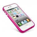 SGP Case Linear EX Color Series Fantasia Hot Pink for iPhone 4, 4S (SGP08396)