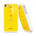 SGP Case Linear Collaboration Karim Rashid Harmony Reventon Yellow for iPhone 4, 4S (SGP08822)
