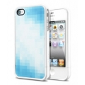SGP Case Linear Pattern Series Tinto Blue for iPhone 4, 4S (SGP09080)