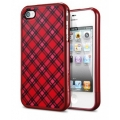 SGP Case Linear Pattern Series Velato Red for iPhone 4, 4S (SGP09084)
