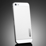 SGP Skin Guard Set Series Carbon White for iPhone 5, 5S (SGP09569)