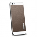 SGP Skin Guard Set Series Leather Brown for iPhone 5, 5S (SGP09567)
