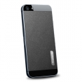 SGP Skin Guard Set Series Leather Black for iPhone 5, 5S (SGP09568)