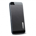 SGP Skin Guard Carbon Black Set Package for iPhone 5, 5S (SGP09571)