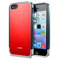 SGP Case Linear Blitz Series Metal Red for iPhone 5, 5S (SGP10121)