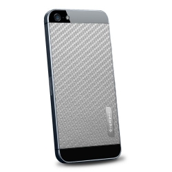 SGP Skin Guard Set Series Carbon Grey for iPhone 5, 5S (SGP09570)