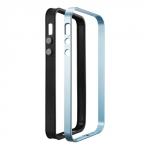 SGP Case Neo Hybrid EX Metal Series Satin Silver for iPhone 5, 5S (SGP09519)
