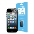 SGP Screen Protector Steinheil Ultra New Series Dual Crystal for iPhone 5, 5S (SGP09594)