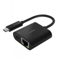 Belkin USB-C to Ethernet + Charge Adapter 60W (INC001BTBK)