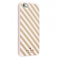 Kate Spade Hardshell Case For iPhone 6 / 6S Gold Pink (KSIPH-023-DSBC-V)