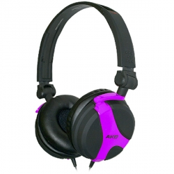 AKG Headphone DJ Fuchsia (K518LEFSH)