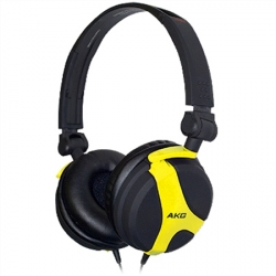 AKG Headphone DJ Yellow (K518LEYEL)